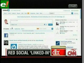 """""""LinkedIn"""" se convierte en la segunda red social más visitada en EEUU"""