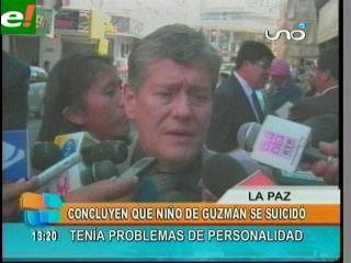 Confirman que un trastorno emocional llevó a Niño de Guzmán a inmolarse