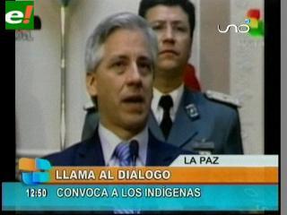 TIPNIS: García Linera vuelve a convocar al diálogo