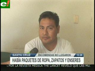 Detenido por no entregar encomiendas de España