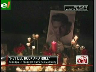 Elvis Presley vuelve a vivir 34 años después de su muerte