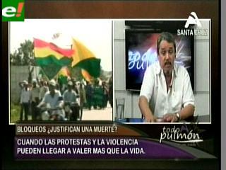 """Carlos Hugo Molina: """"El debate del TIPNIS tiene un impacto mundial"""""""