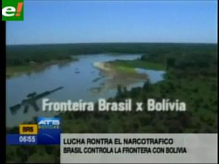 Lucha contra el narcotráfico: Brasil controla más la frontera con Bolivia