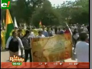 Cidob pide que Evo vaya a la marcha indígena para dialogar