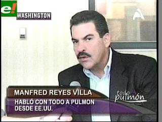 """Manfred: """"Lamentablemente ya no existe oposición en Bolivia"""""""