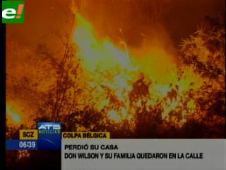 Portachuelo y Colpa sufren por incendios
