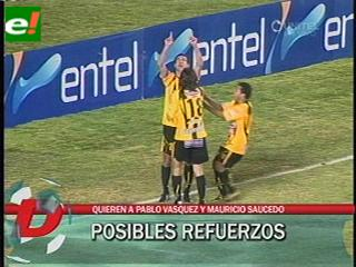 El Tigre quiere a Vázquez y Saucedo