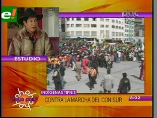 """Rafael Quispe: """"El Gobierno pagará las consecuencias si modifica la Ley Corta del Tipnis"""""""