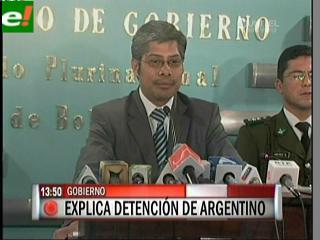 Ministro Chávez aclara que la expulsión del ex carapintada Baraldini fue legal y no política