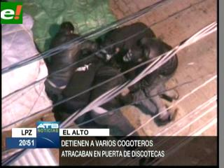 Video muestra atracos en vivo en El Alto