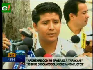 """Franklin Garvizú: """"Del MAS no me corren ni a palos"""""""