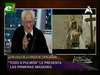 La historia de la Virgen de Copacabana llega al cine