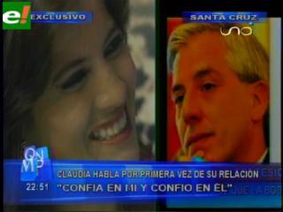 """Claudia confirma compromiso con Álvaro: """"Encontré la relación perfecta con el hombre perfecto"""""""