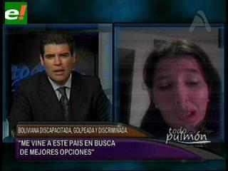 La pesadilla de Cinthia Lachance. Una boliviana discapacitada, golpeada y discriminada en EEUU