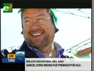Samuel Doria Medina es reconocido como el mejor industrial