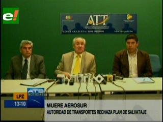 ATT iniciará este miércoles proceso judicial contra Aerosur por quiebra fraudulenta