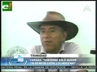 """Fernando Vargas denuncia que es """"perseguido y acosado"""" por el Gobierno"""
