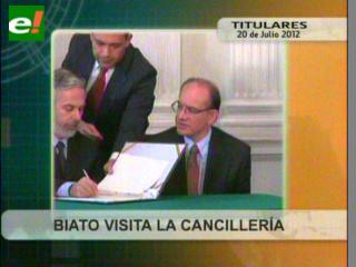 Luego de cuestionarlo, Gobierno se reunirá con embajador de Brasil