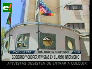 Diálogo entre mineros de Colquiri entra en cuarto intermedio por decisión de asalariados y la COB