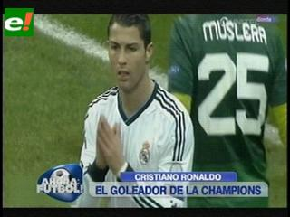 Cristiano Ronaldo terminó como goleador de la Champions League