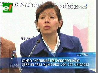 Del 3 al 8 de junio se llevará a cabo el Censo Agropecuario Experimental en tres municipios