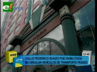 Alcaldía habilitó circulación de vehículos por calle del edificio Alcázar