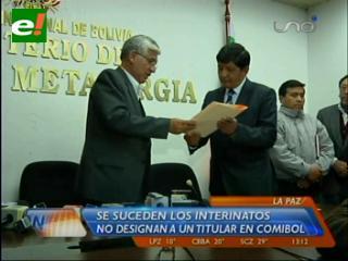 Edgar Hurtado es el nuevo presidente de Comibol