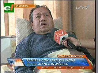Santos Ramírez sufrió una pre embolia