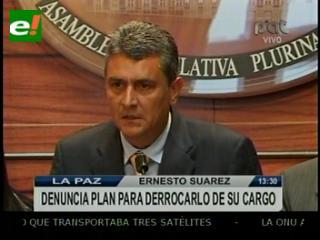 Suárez denunciará por sedición a quienes tramaron su salida de la Gobernación