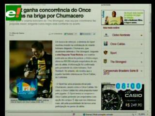 """Once Caldas y Sport Recife hacen ofertas por """"Chuma"""""""