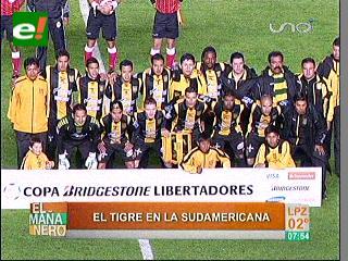 El Tigre alista las garras para la Sudamericana