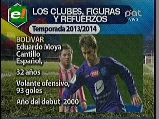 Portugal definió el equipo y Bolívar cambió el dibujo táctico al 4-4-2