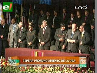 OEA examinará el incidente del avión del Presidente Morales