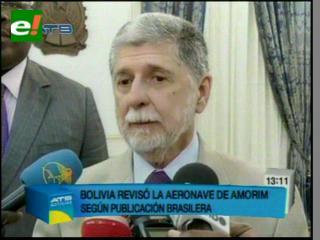Diario dice que se revisó avión de Amorim