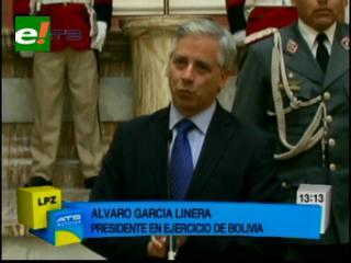 """Gobierno califica de """"político"""" el paro en Beni y denuncia a las """"oligarquías terratenientes"""""""