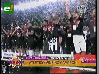 Mais grande do America. Atlético Mineiro es el campeón de la Libertadores