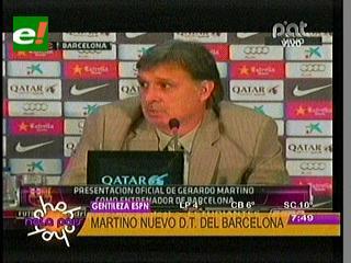 """Barcelona presenta oficialmente al """"Tata"""" Martino"""
