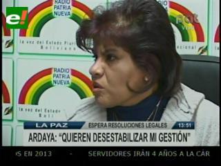 """Presidenta de Aduana: """"No pretendo perpetuarme en el cargo; no tengo esa mezquindad"""""""