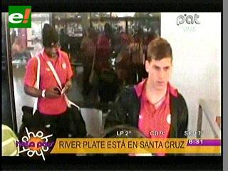 River Plate llega a Santa Cruz con la misión de ganar