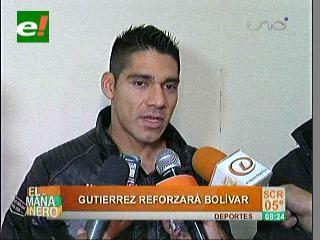 Gutiérrez es el último refuerzo para Bolívar