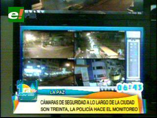 La Paz cuenta con un centro moderno de monitoreo de seguridad vehicular