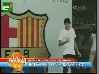 Preocupados por la anemia de Neymar