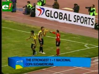The Strongest queda fuera de la Copa Sudamericana