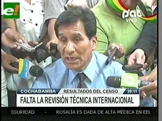 INE ratifica validez del Censo ante comités cívicos de cinco departamentos
