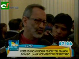 Pérez: MSM lidera un contubernio gonista; Yaksic: él es un despistado