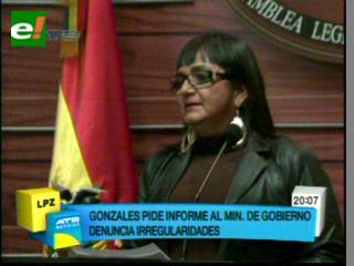 Gonzales pide informe al Gobierno sobre súbditos brasileños implicados en narcotráfico