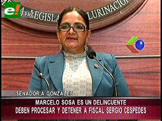 Caso extorsión. Gonzales pide la detención inmediata de Soza y Céspedes