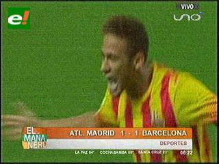 Barcelona y Atlético Madrid empatan a la ida en la Supercopa de España de fútbol