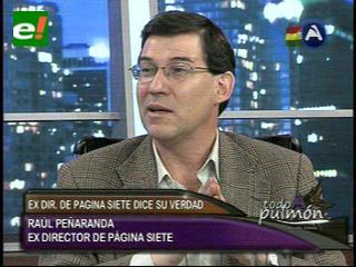"""Raúl Peñaranda: """"Me voy para proteger el periódico"""""""