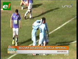 Bolívar golea otra vez y asume la punta liguera